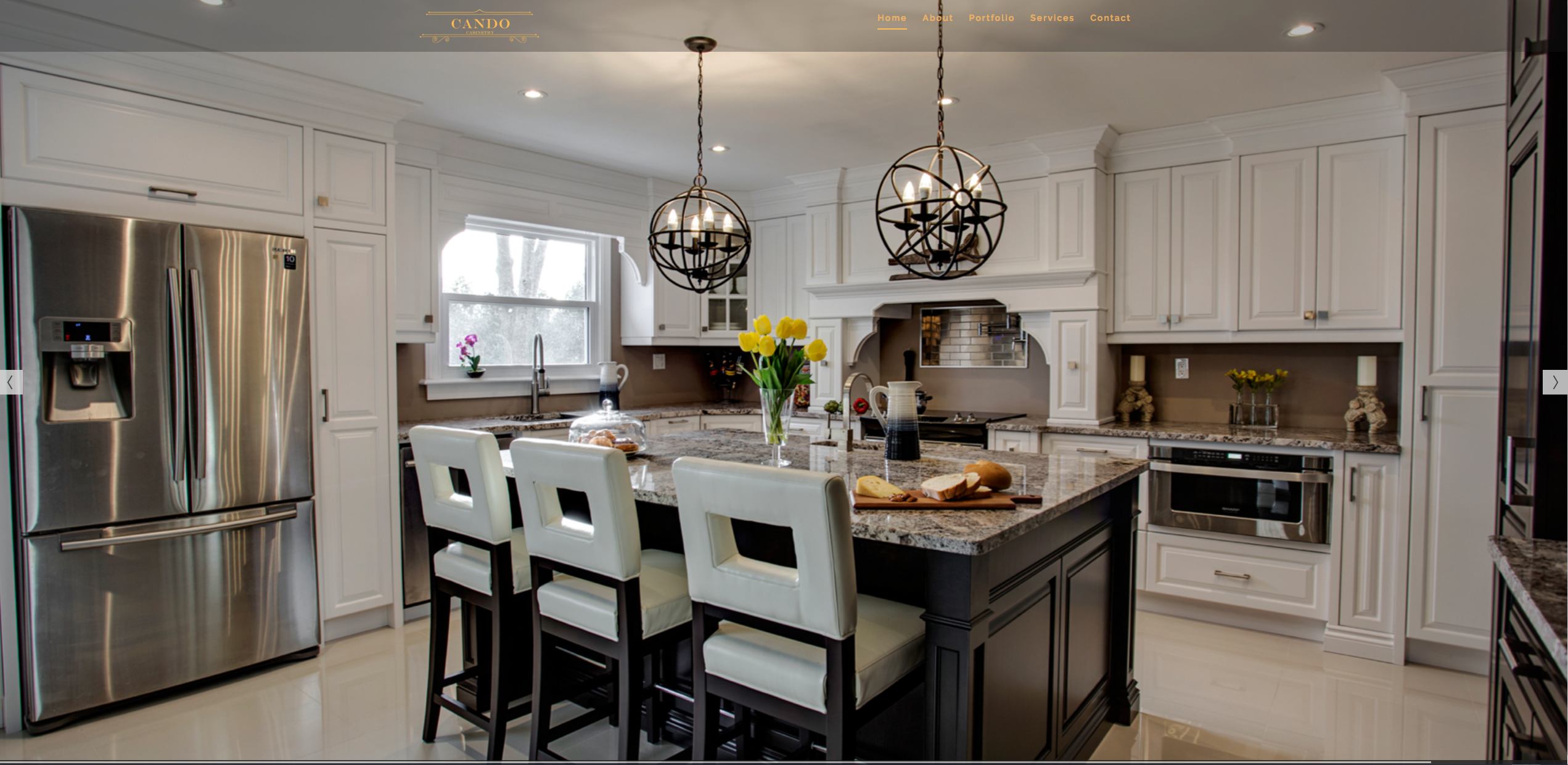 Cando cabinetry website