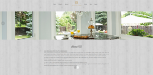 Houser Fine cabinetry website