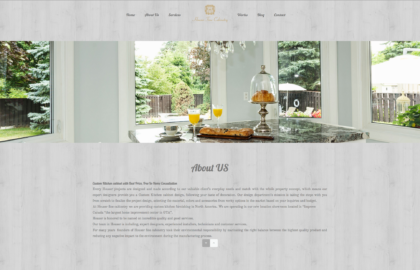 Houser Fine cabinetry website