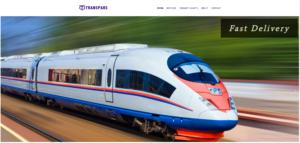 Transpars Inc Website | Yalda Nasirian Portfolio | Web Design